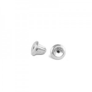 Sterling Silver Earring Screw Back (one piece)