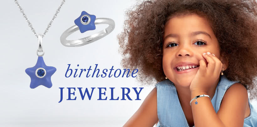 Birthstone Jewelry - The largest birthstone jewelry selection for children of all ages